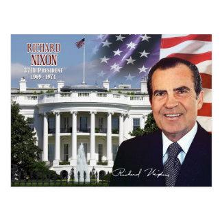 Richard Nixon - trente-septième président des Carte Postale