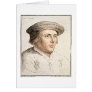 Riches de Richard, premier engra de baron Rich Carte De Vœux