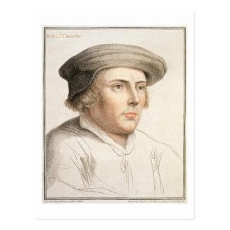 Riches de Richard, premier engra de baron Rich Carte Postale