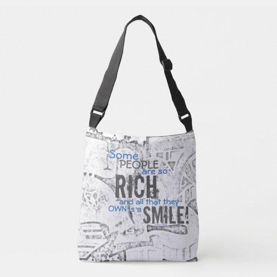 Riches et sourire #34 - sac mortuaire croisé tout