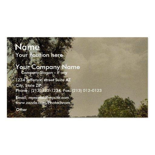 Richmond, la terrasse, Londres et banlieues, Angle Carte De Visite