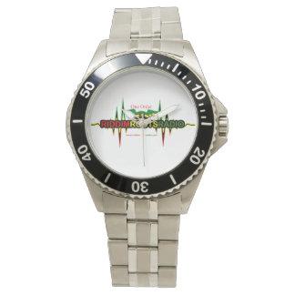 Riddim enracine la montre de l'acier inoxydable montres bracelet