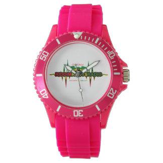 Riddim enracine la montre sportive du silicium des montres bracelet