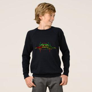 Riddim enracine le sweatshirt par radio de raglan