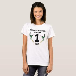 Riddim enracine le T-shirt de dames d'Arda de la