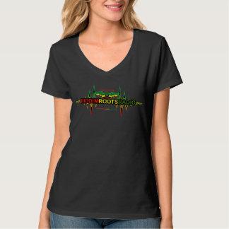 Riddim enracine le T-shirt de V-Cou de Hanes des