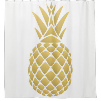 Rideau en douche d'ananas