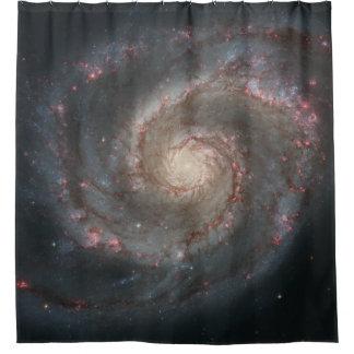 Rideau en douche de galaxie de tourbillon