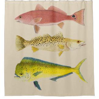 Rideau en douche de Gamefish d'océan