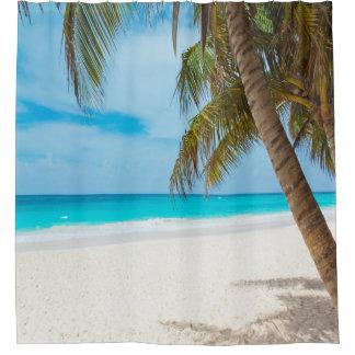 Rideau en douche de paradis de plage