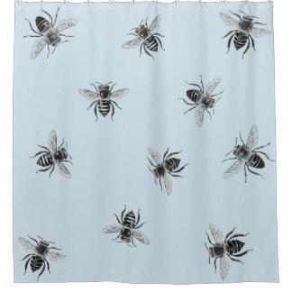 Rideau en douche de ruche d'abeille