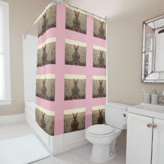 "Rideau en douche de salle de bains ""de lapin"
