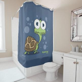 Rideau en douche de tortue (bleu marine BG)