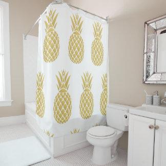 Rideau en douche d'or d'ananas