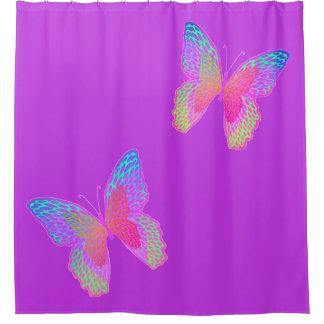 Rideau en douche (violet) de Flottement-byes