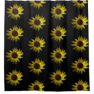 Rideaux De Douche Accent jaune de fleur de marguerite