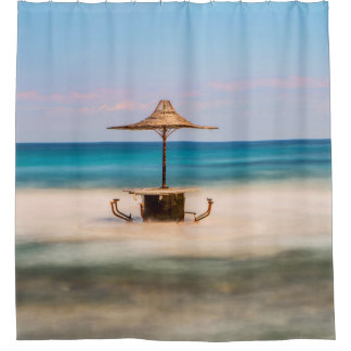 Rideaux De Douche Barre de bord de la mer