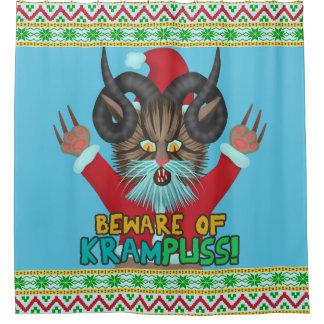 Rideaux De Douche Calembour drôle de vacances de Krampuss d'humour