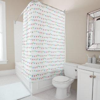 Rideaux De Douche Décor à la mode de salle de bains de Noël,