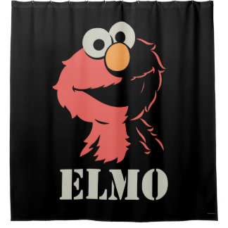 Rideaux De Douche Elmo demi
