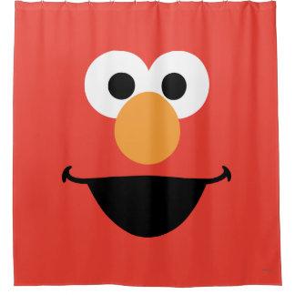 Rideaux De Douche Elmo font face à l'art