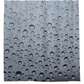 Rideaux De Douche Gouttes de pluie sur la vitre
