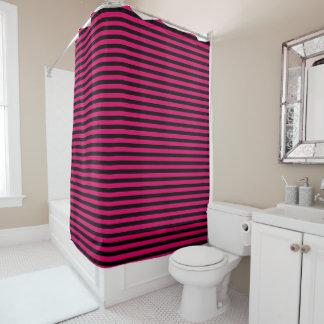 Rideaux De Douche Il tapisse pour Salle de bain des Bandes Pink