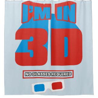 Rideaux De Douche Je suis dans 3D