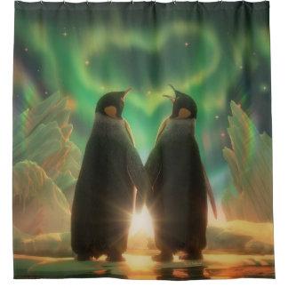 Rideaux De Douche L'aurore de pingouin