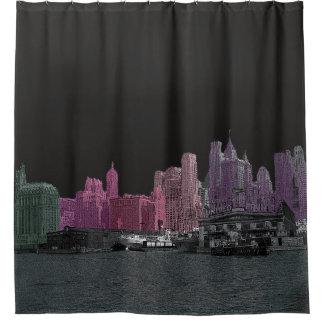 Rideaux De Douche Les années 1930 de NEW YORK CITY SYLINE VOTRE