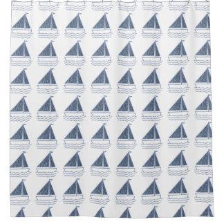 Rideaux De Douche Les petits bateaux