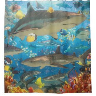 Rideaux De Douche Requins de récif