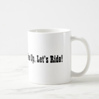 Ridin avec du café mug
