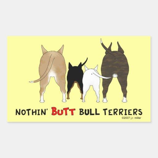 Rien n'aboutent des bulls-terrier autocollants