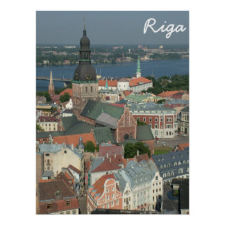 Riga, Lettonie Posters