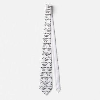 Ringard Flirty et peu un sale Cravate