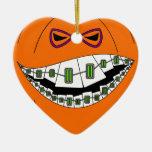 Ringard Geeky de grimace mauvaise de Halloween de  Décoration De Noël
