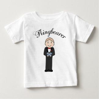 Ringbearer badine le tee - shirt t-shirt pour bébé