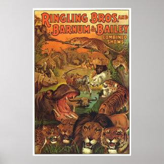 Ringling Bros et Barnum et expositions combinées p Posters