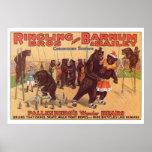 Ringling Bros. La merveille soutient les années 19 Posters