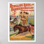 Ringling Bros. Les années 10 de publicité d'Equest Posters