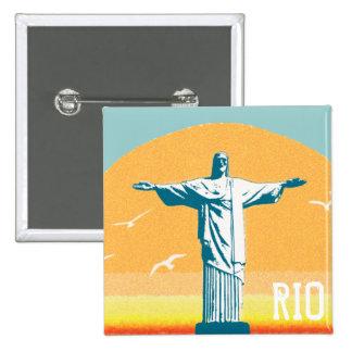 Rio - Corcovado - Jésus-Christ le rédempteur Pin's