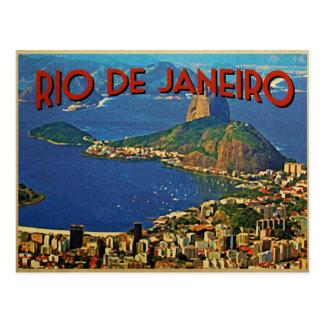 Rio de Janeiro Brésil Carte Postale