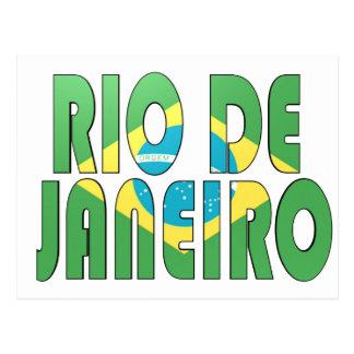 Rio de Janeiro, Brésil Carte Postale