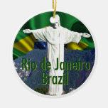 Rio de Janeiro Brésil Ornement Rond En Céramique