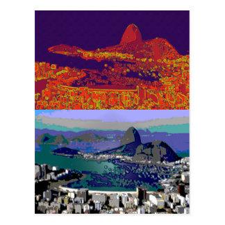 Rio de Janeiro Brésil Pão-De-Açúcar Carte Postale