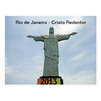 Rio de Janeiro - Cristo Redentor Cartes Postales