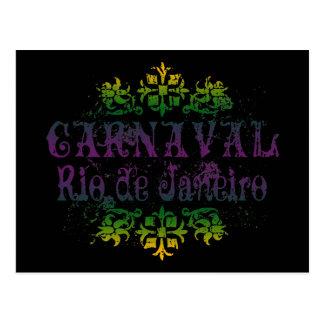Rio de Janeiro de Carnaval Cartes Postales