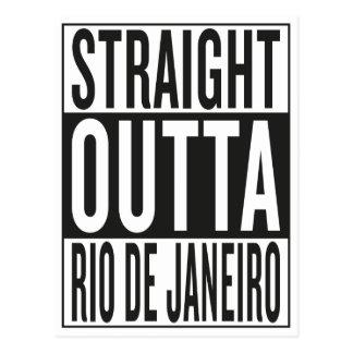 Rio de Janeiro droit d'outta Cartes Postales