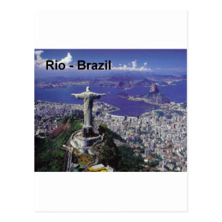 Rio de Janeiro du Brésil St K Carte Postale